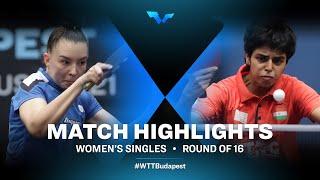 Mariia Tailakova vs Kamath Archana Girish | WTT Contender Budapest 2021 (R16)
