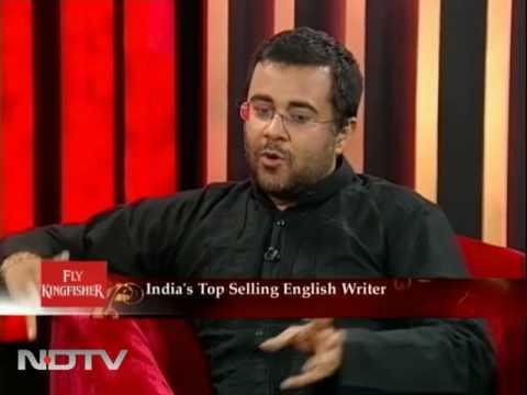 Banking is not my journey: Chetan Bhagat