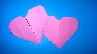 Оригами СЕРДЦЕ из бумаги (для начинающих) на День Святого Валентина или Новый год(Оригами СЕРДЦЕ из бумаги (для начинающих) В данном видео мы с Вами узнаем, как сделать бумажное сердце своим..., 2014-12-29T10:02:10.000Z)