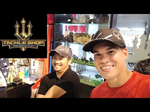 Grand Opening Of Tackle Shop Singapore!