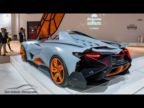 Lamborghini Egoista One Off Youtube