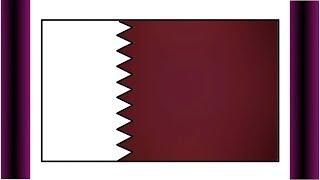 How to Draw Qatar Flag | FIFA World Cup 2022 Qatar flag | Glitter Color Flag,National Flag of Qatar