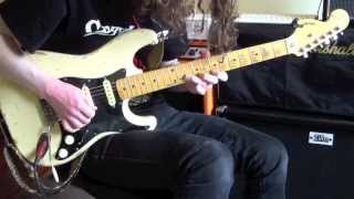 Mellow Strat Jam - Bar Work and Verb! | Ben Wilshire