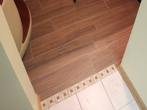 How to install WOOD LOOK CERAMIC or PORCELAIN TILE