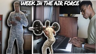 WEEK IN THE LIFE IN THE AIR FORCE|2020|