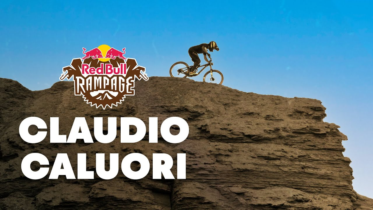 Claudio Caluori's Scariest Course Preview Ever - Red Bull Rampage 2015
