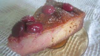 Творожный пудинг на манке с ягодами кизила рецепт в духовке-С нами вкусно всегда.
