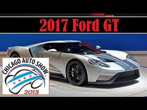 Ford Gt  Chicago Auto Show Live Photos