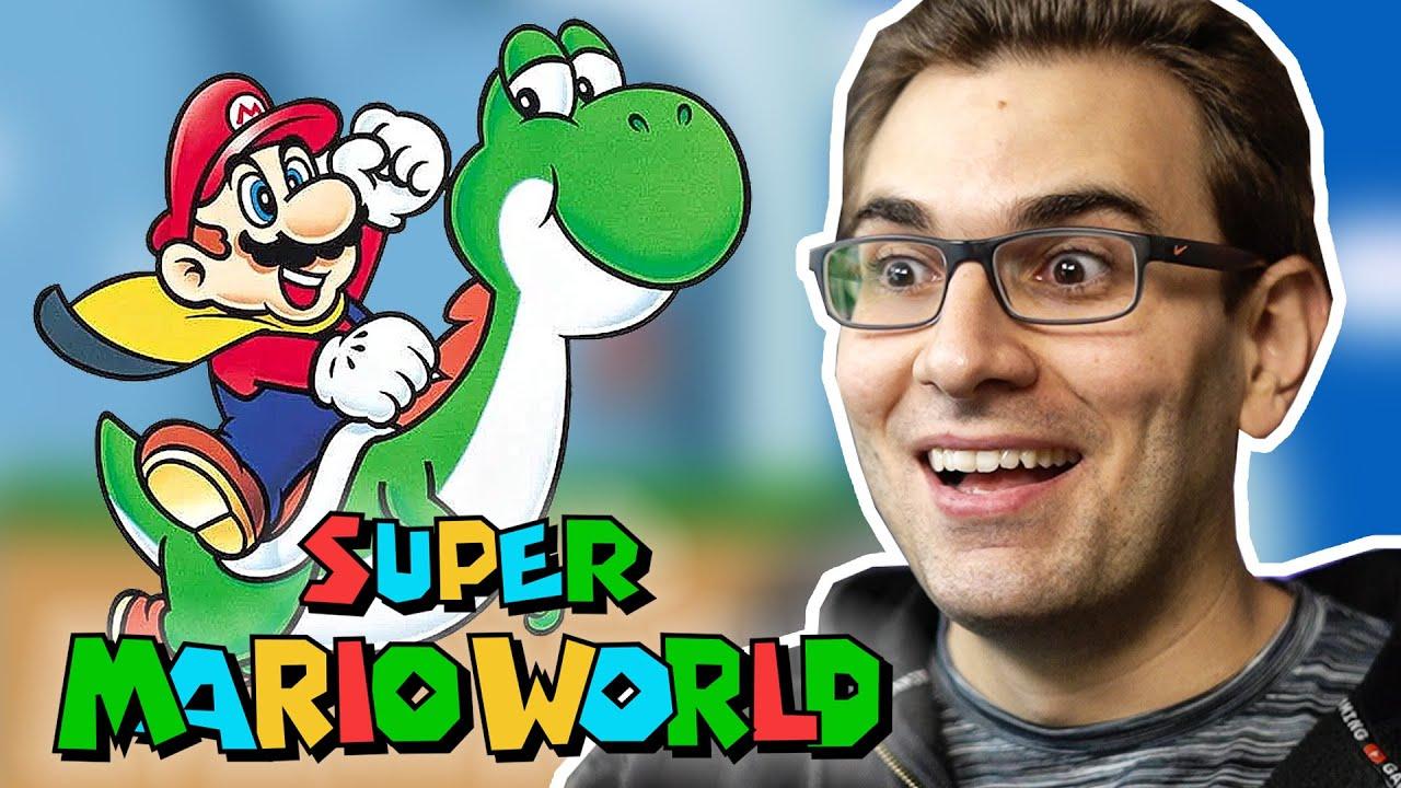 SUPER MARIO WORLD - Início de Gameplay do Clássico da Nintendo!