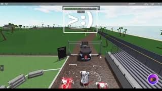 NEW Dirt Track in Car Crushers 2! (Roblox)