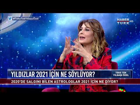 Yıldızlar 2021 için ne söylüyor? Hande Kazanova yanıtlıyor (Teke Tek – Yılbaşı Astrologlar Özel)