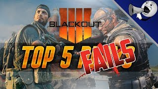 Call of Duty Blackout Top 5 Fails #4: Kill Last Player But Draw?!?! (BO4 Blackout)