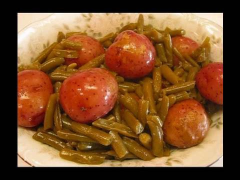Betty's Homestyle Green Beans And New Potatoes
