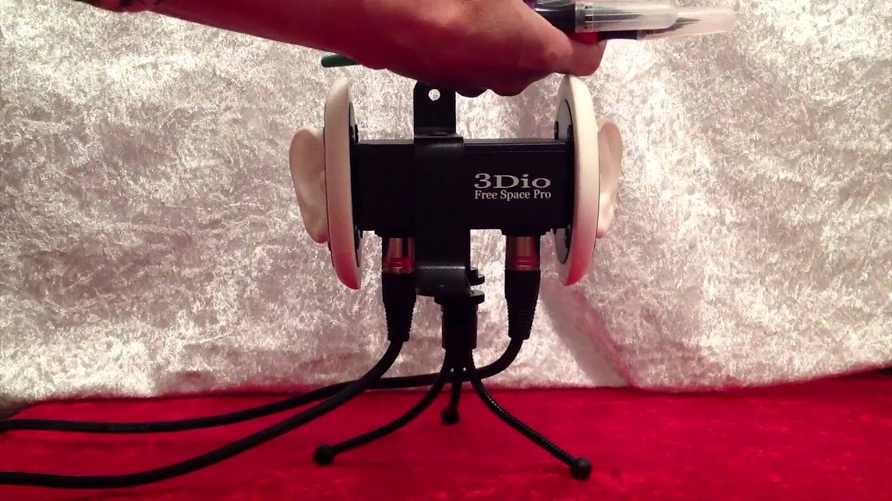 asmr 3dio free space pro binaural microphone test. Black Bedroom Furniture Sets. Home Design Ideas