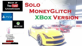 GTA 5 Online *GEPATCHT* SOLO MoneyGlitch XBox Version - Super Einfach - Geht so auch auf der PS4