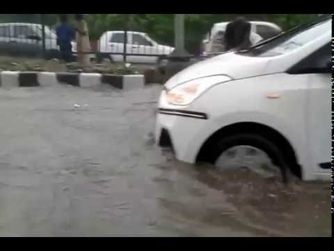 Heavy rains in Delhi part 2 31st August 2016