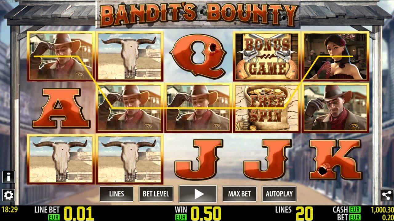 Bandits Bounty Slot Machine