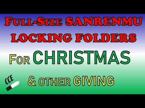 "Full-Size (+ one sub 3"") Locking Folders  (GREAT SALE PRICES) SANRENMU - $9.99 PERFECT 4 Christmas"