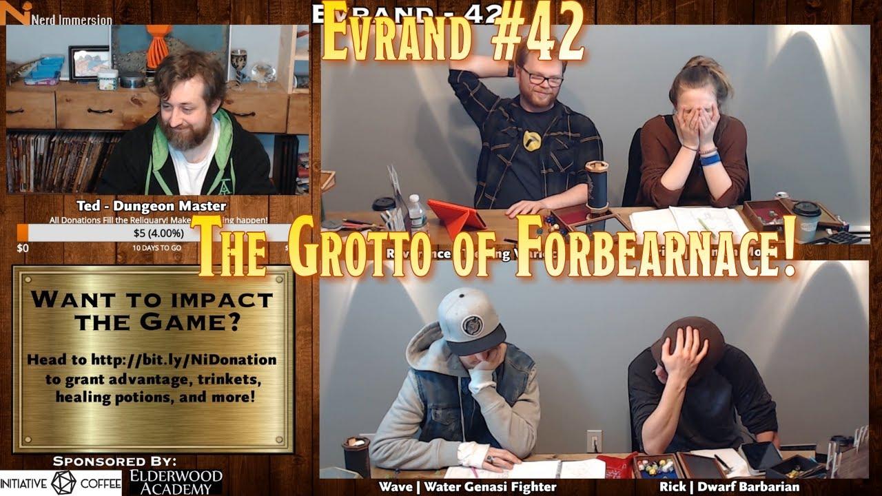 D&D 5e | Evrand #42 (Homebrew Campaign) | Nerd Immersion