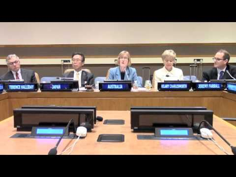 Strengthening the rule of law through the UNSC - Permanent Representative of Australia to the UN
