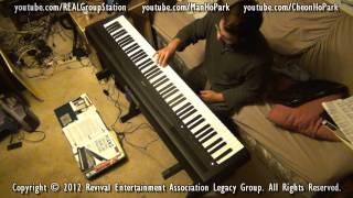 Yamaha Digital Piano P-95 Improv. Test + Ivory VSTi