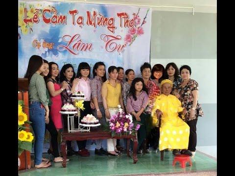 Lễ Cảm Tạ Mừng Thọ - Cụ Ông: Lâm Tự Tròn 100 Tuổi  27-02-2015