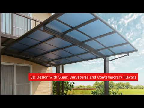 Silverroof Aluminium Roofing Awning Car Porch In Malaysia Youtube