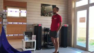 видео Проект каркасного дома Эстет