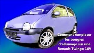 Comment remplacer les bougies d'allumage sur une Renault Twingo 16V (français)