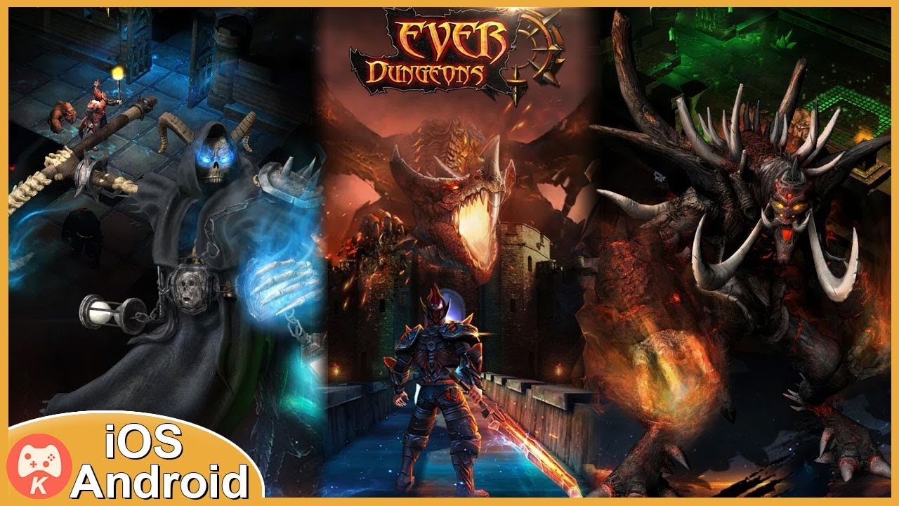 ApkMod1.Com Ever Dungeon : Hunter King v1.5.38 + (much money) download free Android Game Role Playing