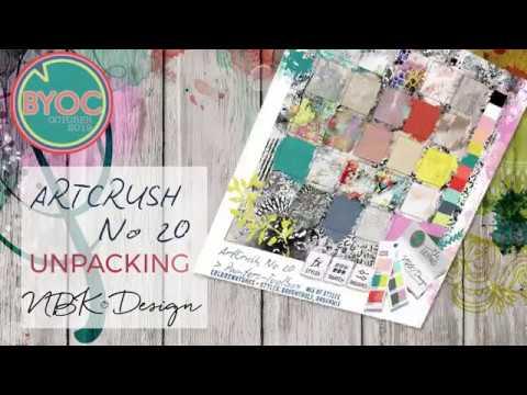artCrush No 20 - UNPACKING by NBK-Design