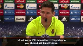 "Messi: ""Ter Stegen could become the best goalkeeper in the world"""