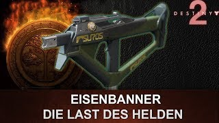 "Destiny 2: Eisenbanner Maschinenpistole Review ""Die Last des Helden"" (Deutsch/German)"