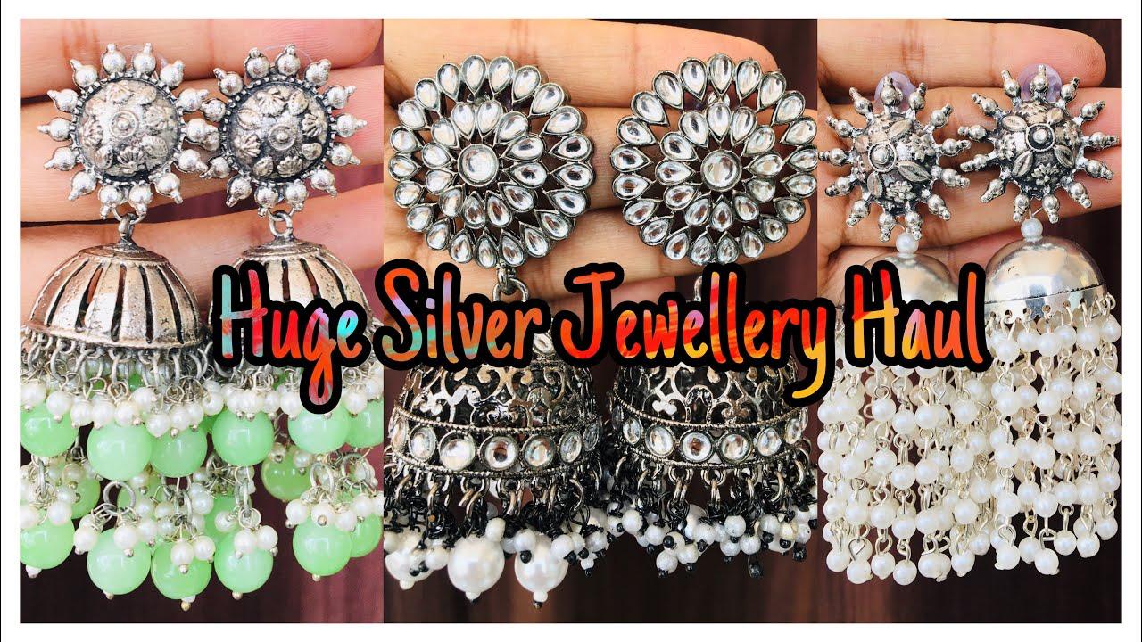 Huge Oxidised Jewellery Haul | bebeatnik.com | Huge Jewellery Haul | nayalokks | Navya Varma