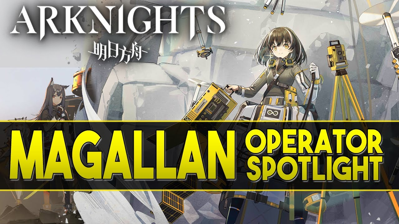 "【Arknights】New Operator ""Magallan"" Review + Demonstration - Arknights Operator Spotlight"