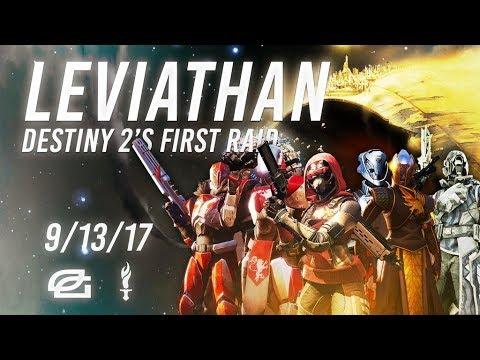 Destiny 2: THE LEVIATHAN RAID GAMEPLAY WALKTHROUGH