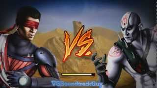 Mortal Kombat 9 (Komplete Edition): Kenshi Arcade (Short Gameplay)