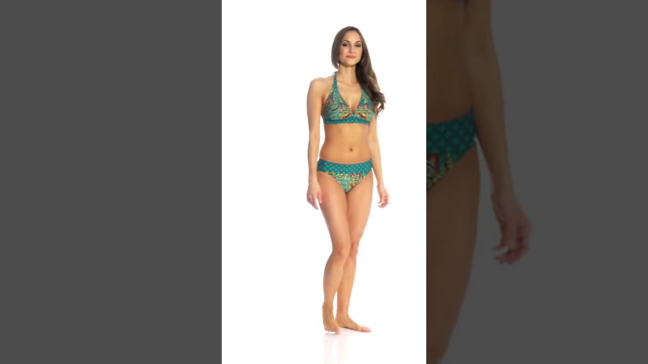 9dd769fa8f Prana Women's Fleur D'Amour Lahari Halter Bikini Top (D/DD-Cup) |  SwimOutlet.com