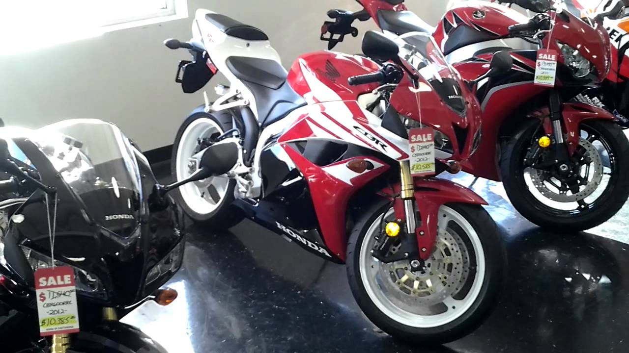 FOR SALE - 2012 Honda CBR600RR $9,299 Motorcycle BEST DEAL AROUND ...