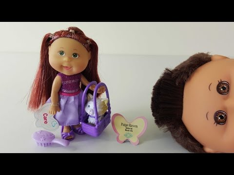Lil Sprouts Paige Unboxing Review Cabbage Patch Kids