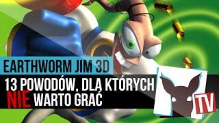 Earthworm Jim 3D - 13 powodów, dla których NIE warto grać | ZagrajnikTV