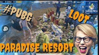 PUBG LOOT || PARADISE RESORT||GADGET GAMER