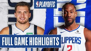 MAVERICKS at CLIPPERS | FULL GAME HIGHLIGHTS | August 17, 2020
