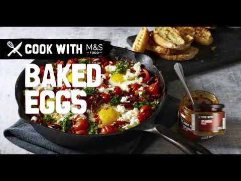 M&S   Cook With M&S... Baked Eggs