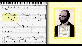 The Silver Swan by Scott Joplin (1914, Ragtime piano)
