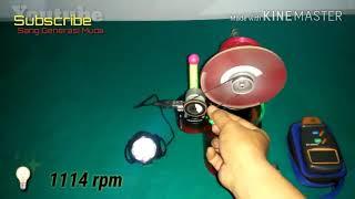 Gambar cover 1114 rpm - Stirling Engine 12v