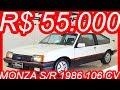 PASTORE R$ 55.000 Chevrolet #Monza S/R 1986 Hatchback Branco Everest MT5 aro 14 1.8/S Álcool 106 cv