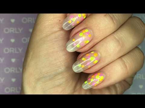 ORLY Neon Confetti Nail Art Tutorial thumbnail