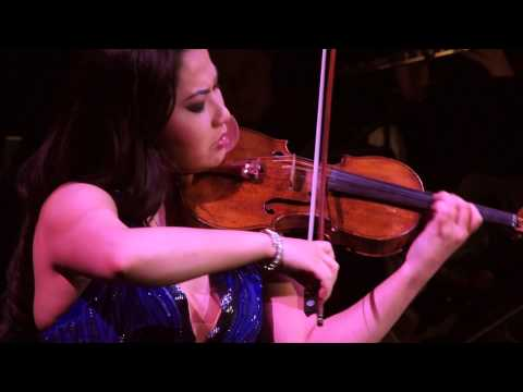 Sarah Chang plays the Vitali Chaconne with the American Youth Symphony