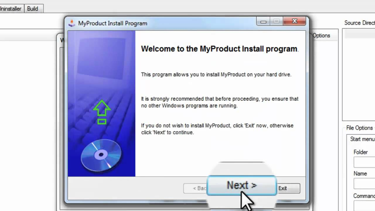 How to install the program on the tablet